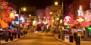 Beale Street Night Shot